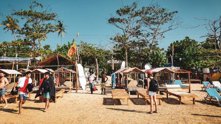 Doen in Weligama in Sri Lanka