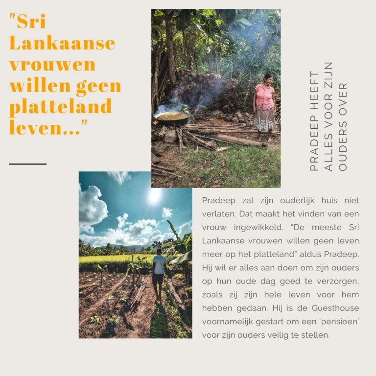 Reisstel.nl | Portret Pradeep - docent en ondernemer in Sri Lanka