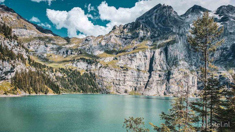 Oeschinensee, Zwitserland header