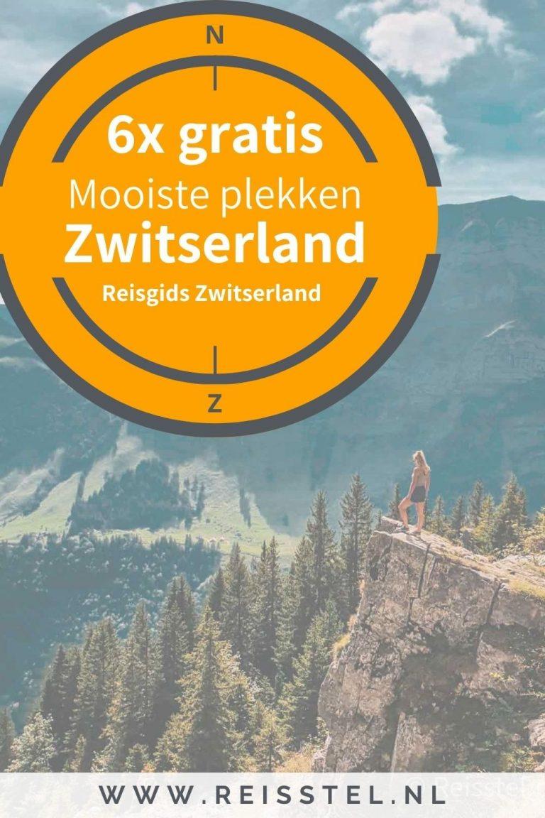 Reisstel.nl | 6x gratis: ontdek dé mooiste plekken in Zwitserland