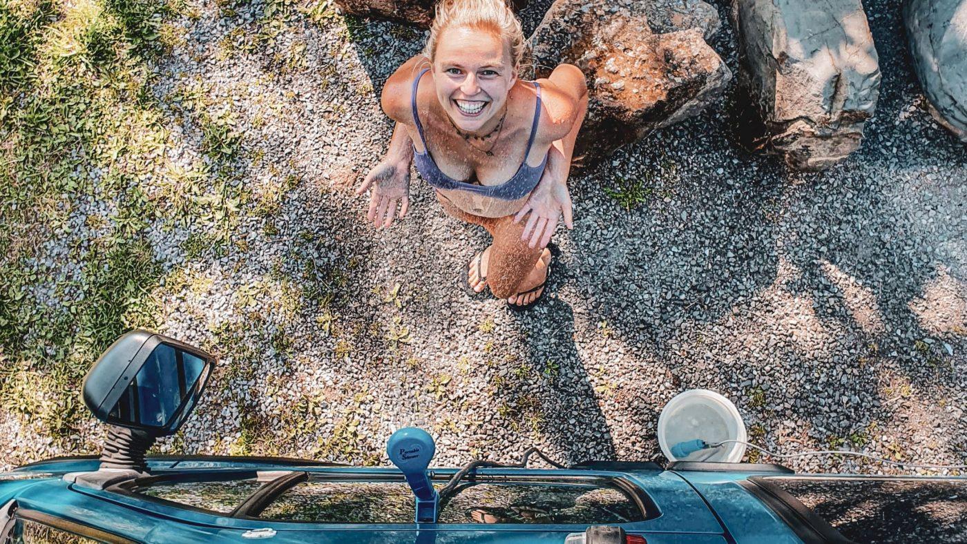 How-to: douchen in een camper - header