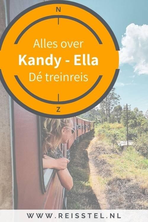 Treinreis Kandy Ella of treinreis Ella Kandy - de treinreis van Sri Lanka