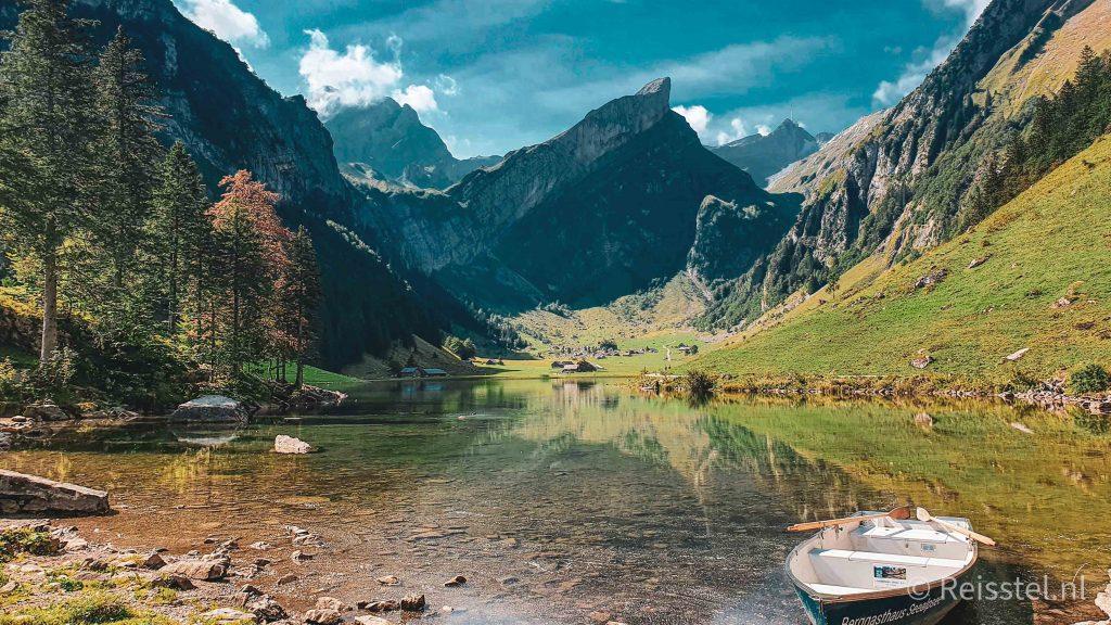 Appenzell Zwitserland 6x highlights voor jouw zomervakantie | varen Seealpsee