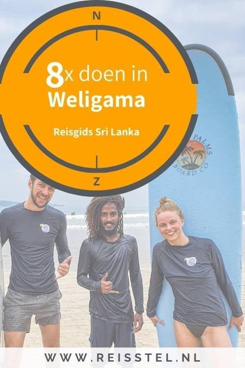 8x doen in Weligama in Sri Lanka