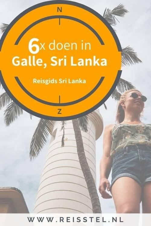 6x doen: Galle in Sri Lanka