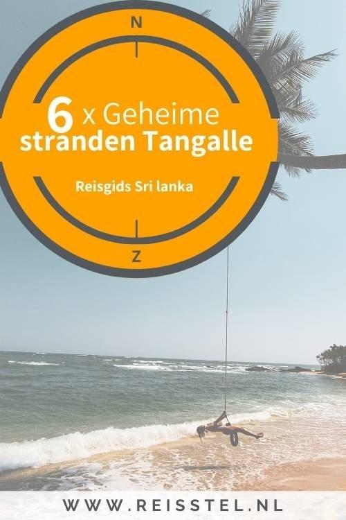 Mooiste stranden van Tangalle Beach