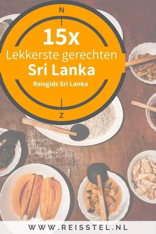 Eten in Sri Lanka - 15x typisch Sri Lankaanse gerechten