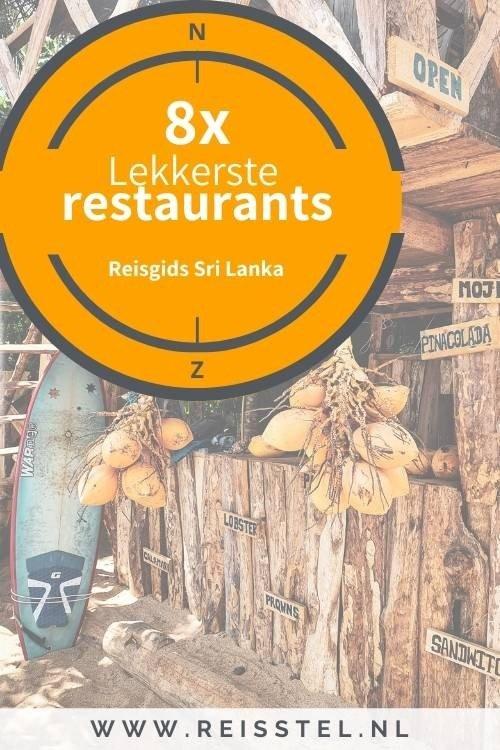 8x lekkerste restaurants in Sri Lanka
