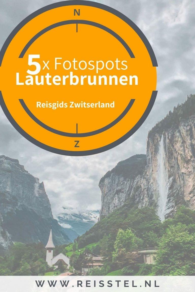 Reisstel.nl | Lauterbrunnen in Zwitserland | ontdek de 5 mooiste fotospots