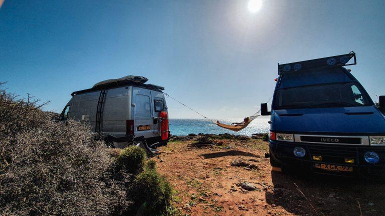 Griekenland het ideale camperland hangmat