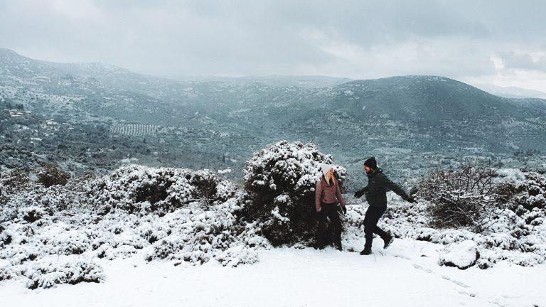 Sneeuw in Griekenland | header hero