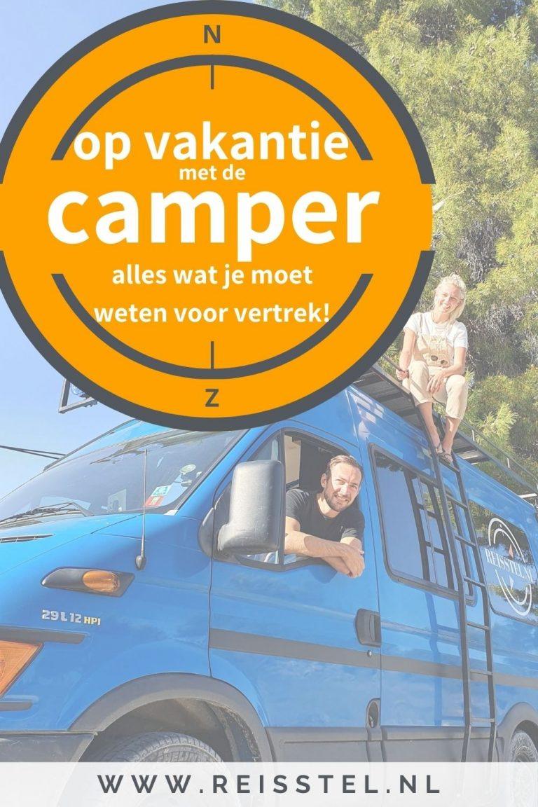 Vakantie met camper | alles over camper reizen | Pinterest
