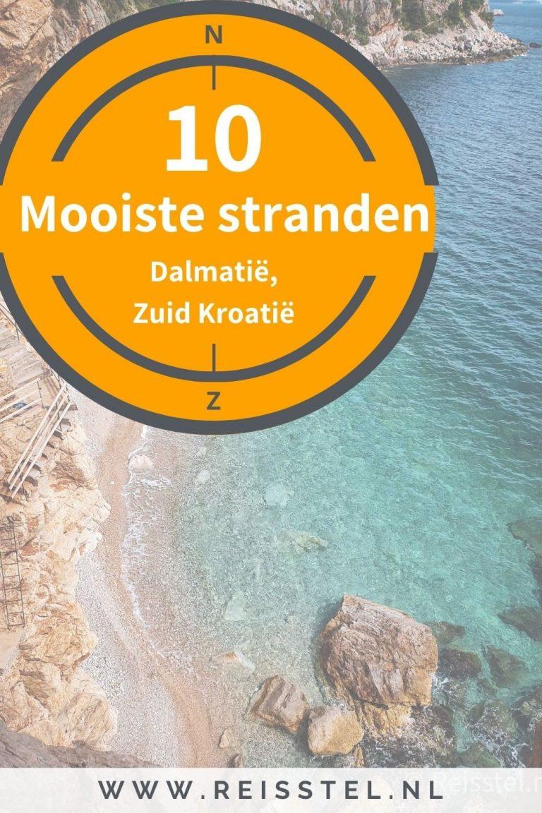 Mooiste stranden van Dalmatië | Top 10 stranden van zuid Kroatië | Pinterest