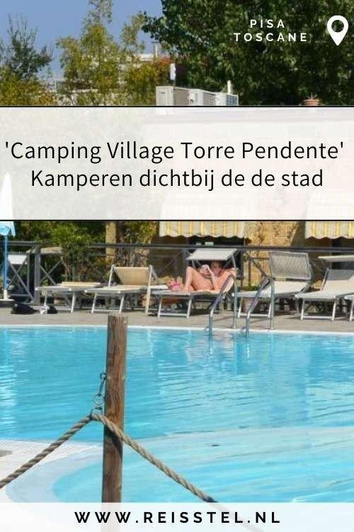 Rondreis Toscane   Camping Village Torre Pendente Pisa