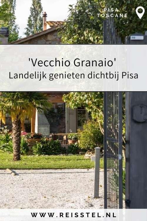 Rondreis Toscane   Vecchio Granaio Pisa