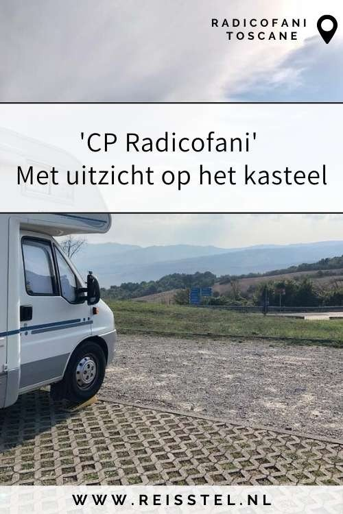 Rondreis Toscane   CP Radicofani