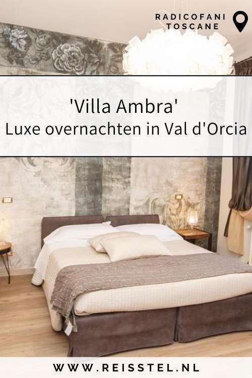 Rondreis Toscane   Villa Ambra Radicofani