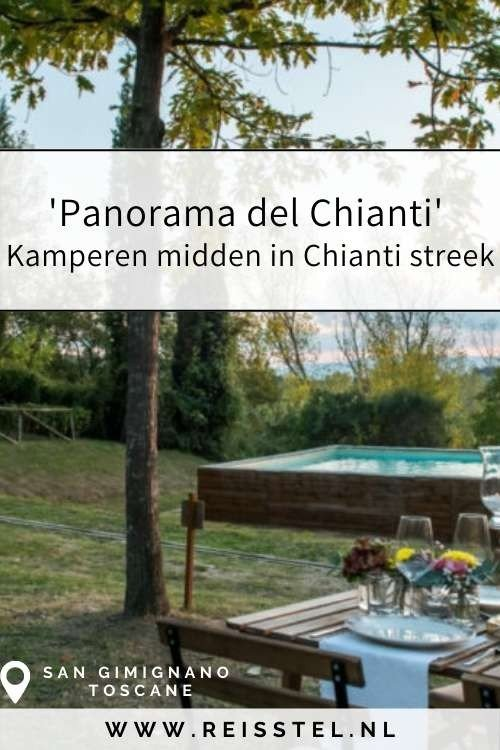 Rondreis Toscane   Panorama del Chianti San Gimignano