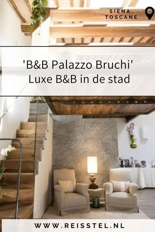 Rondreis Toscane | B&B Palazzo Bruchi Siena