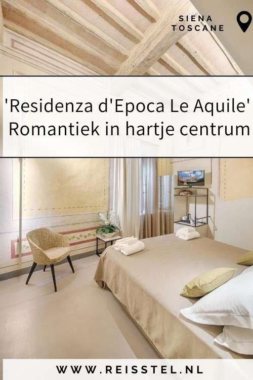Rondreis Toscane | Residenza d'Epoca le Aquile Siena