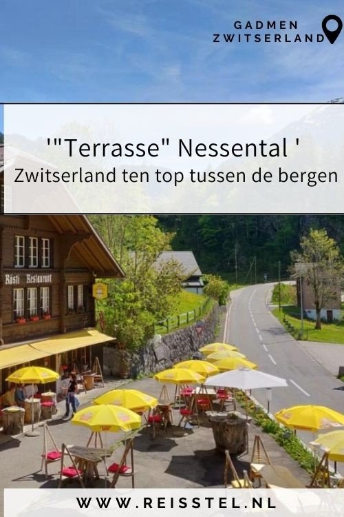 Reisroute Zwitserland   Overnachten Sustenpas 2