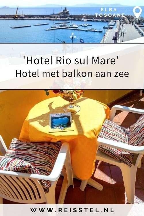 Rondreis Toscane   Hotel Rio sul Mare Elba