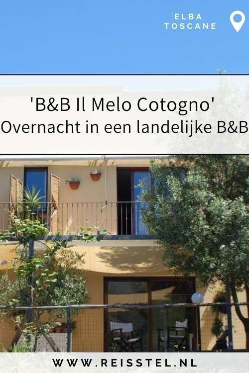 Rondreis Toscane   B&B Il Melo Cotogno Elba