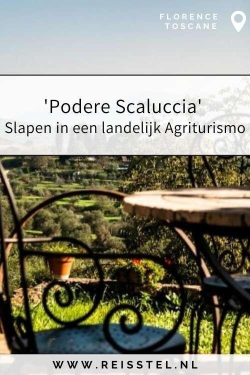 Rondreis Toscane   Podere Scaluccia Florence