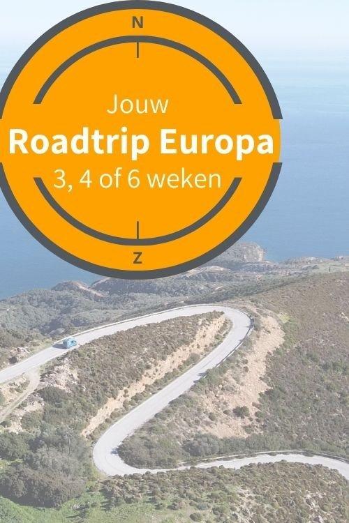 Roadtrip Europa - de rondreis in 3, 4, 5 of 6 weken | Pinterest