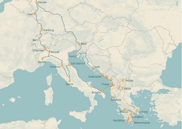 Roadtrip Europa - rondreis Europa - Reisstel.nl