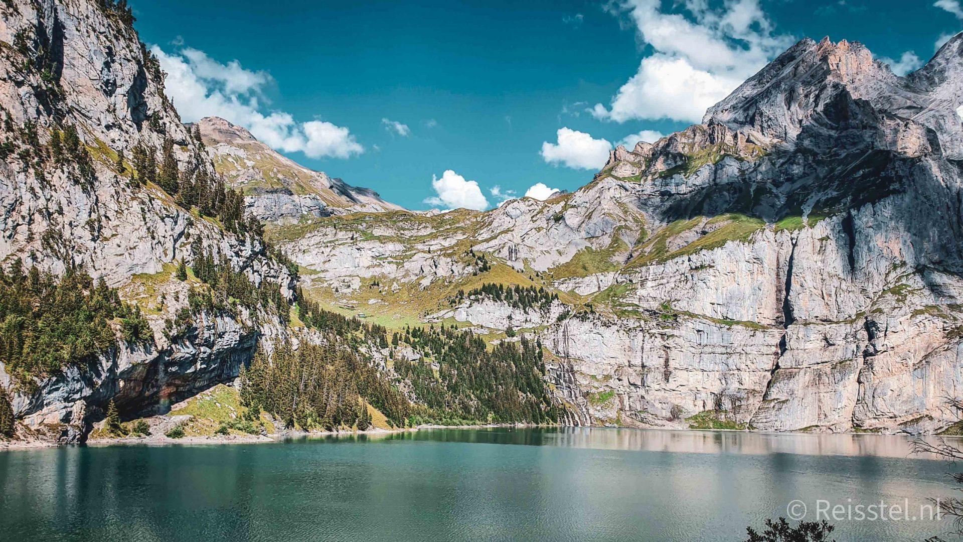 Oeschinensee hike Kandersteg - Oeschinenmeer - header