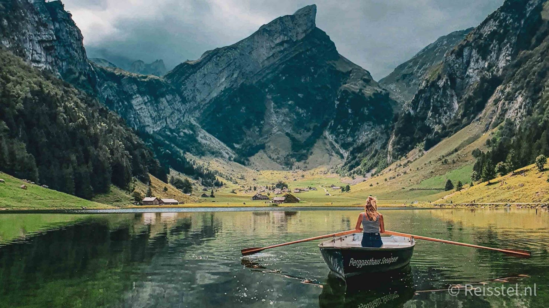 Hike Seealpsee, Appenzell, Zwitserland. Header 1
