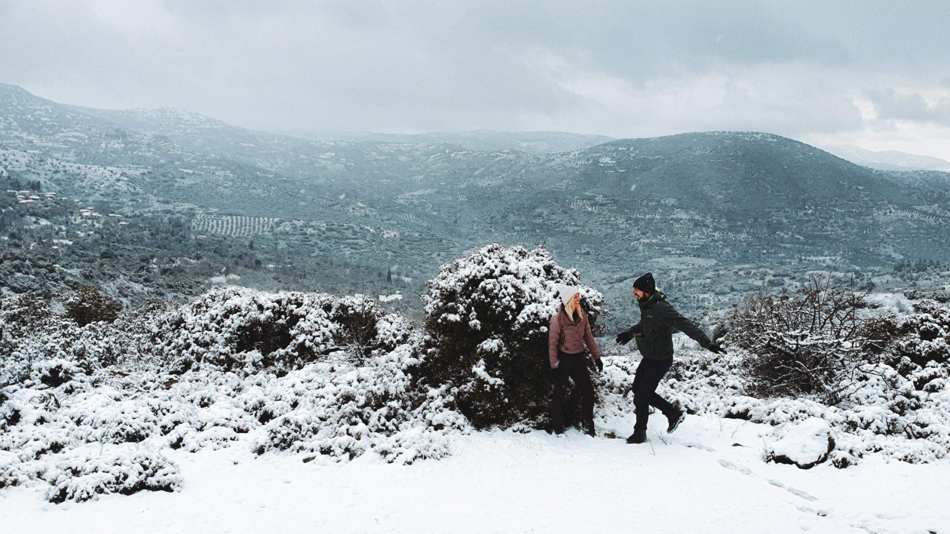 Sneeuw in Griekenland   header hero