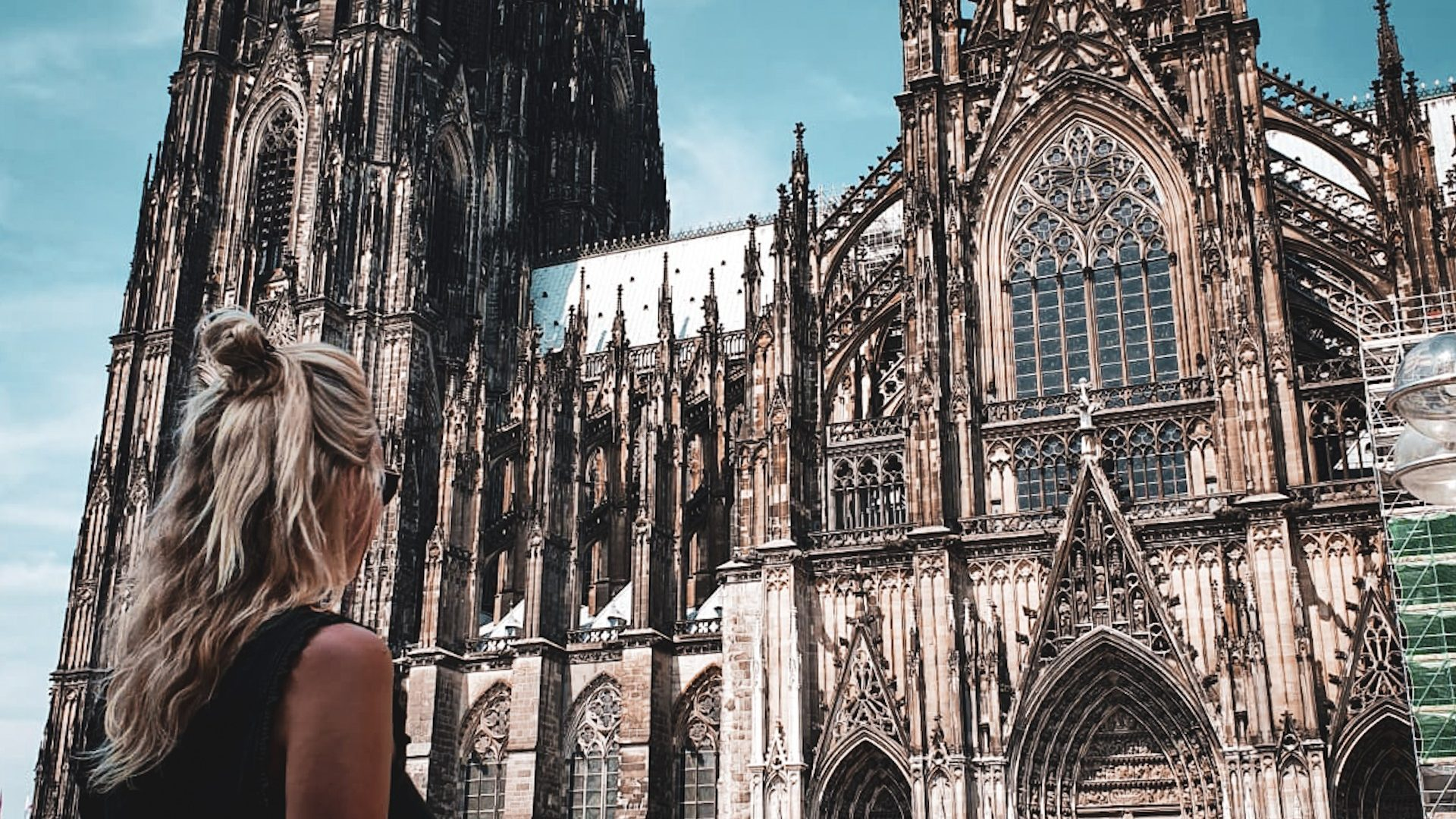 header de Dom in Keulen, Duitsland