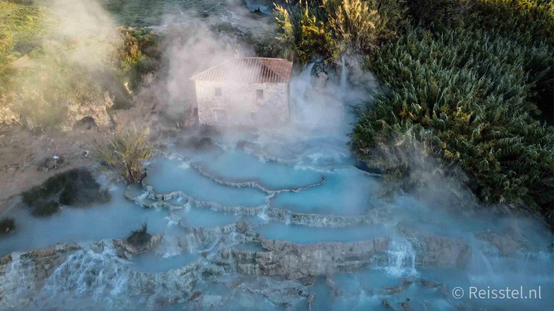 Terme di Saturnia | gratis warmwaterbronnen | Header